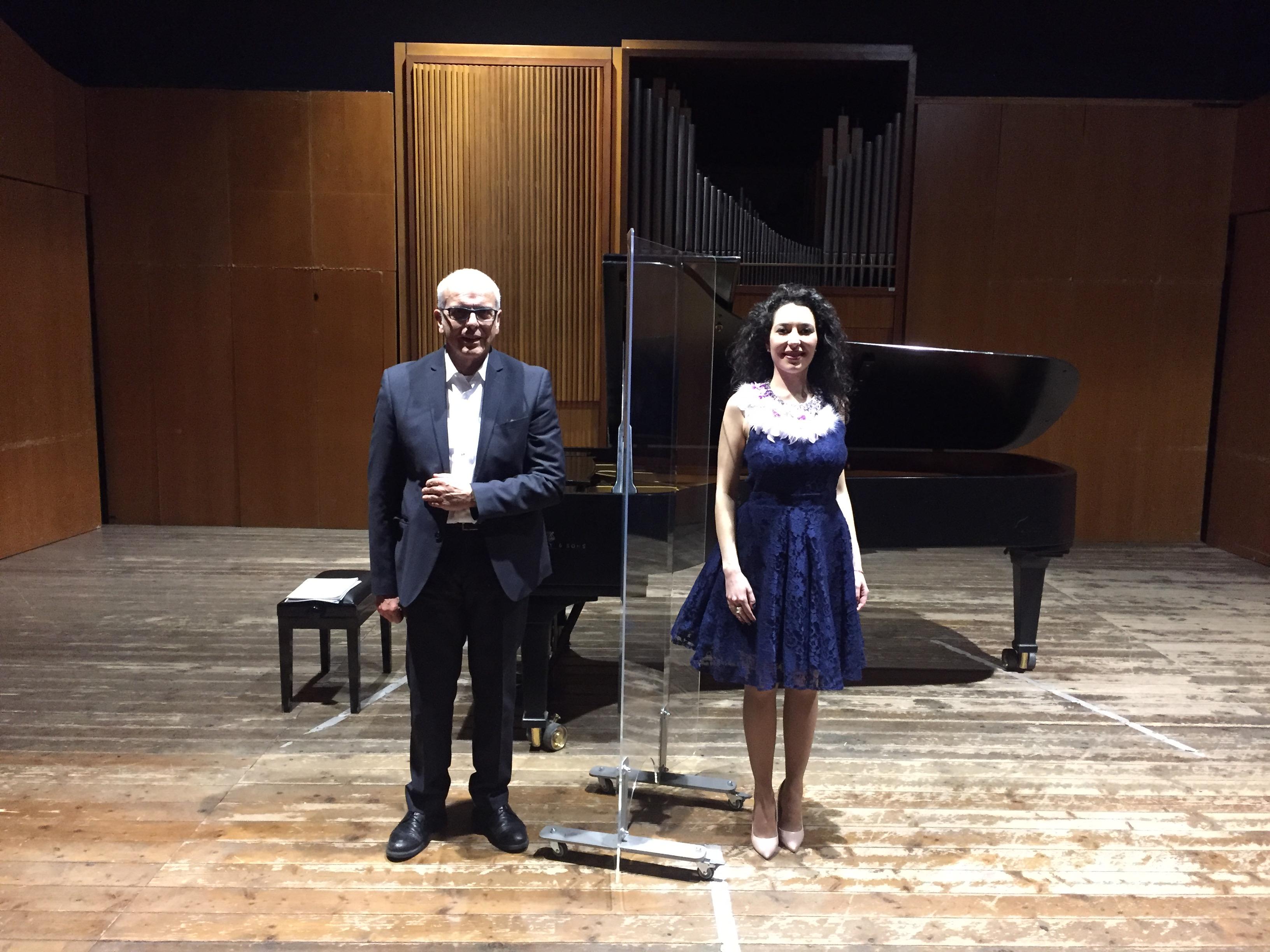 Chiara Tarquini e Raffaele Di Berto